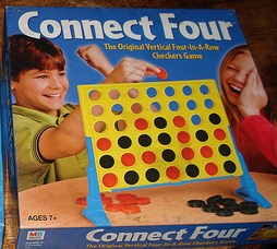 How to win at Connect Four every time! A link to a game